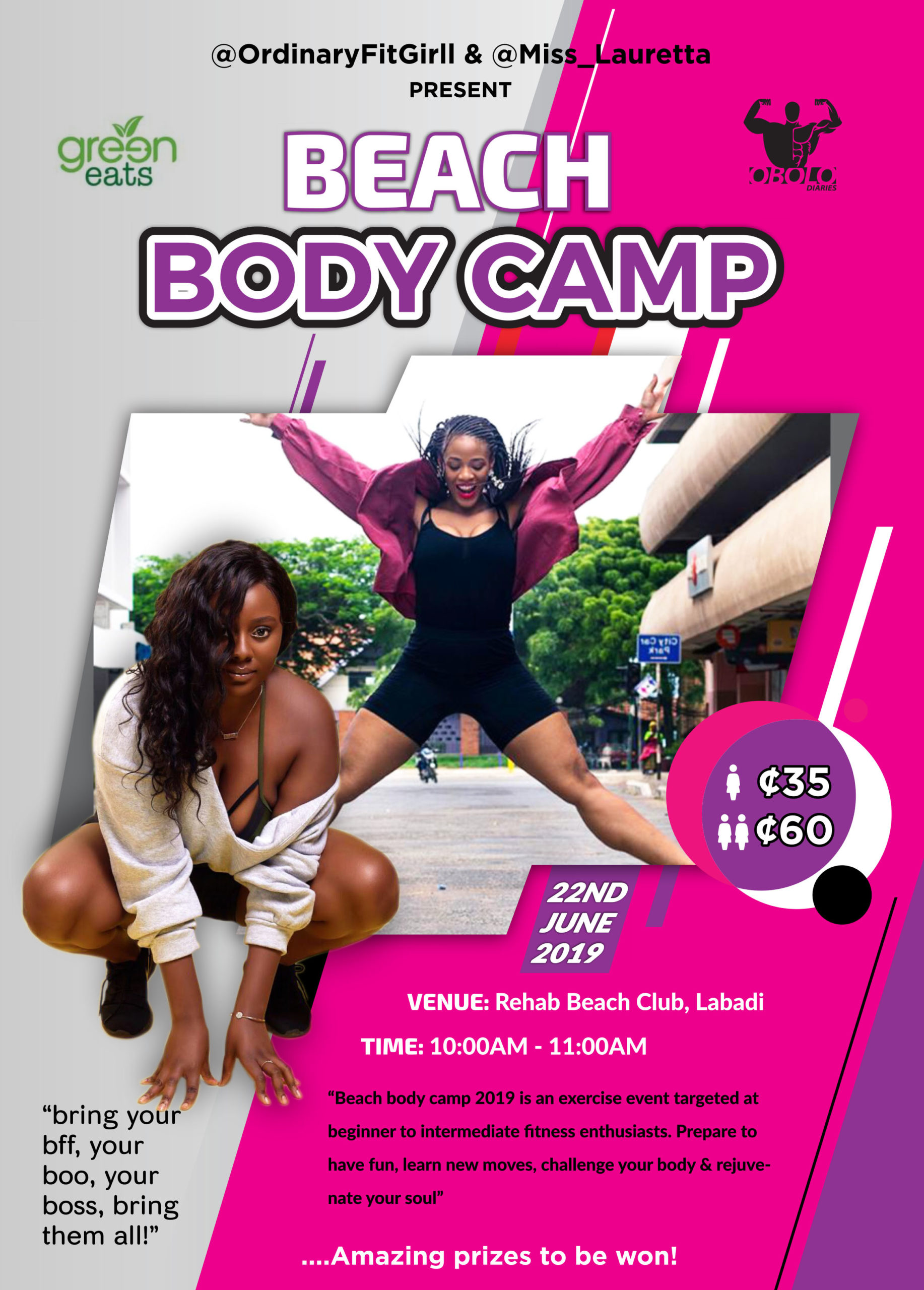 Beach Body Camp