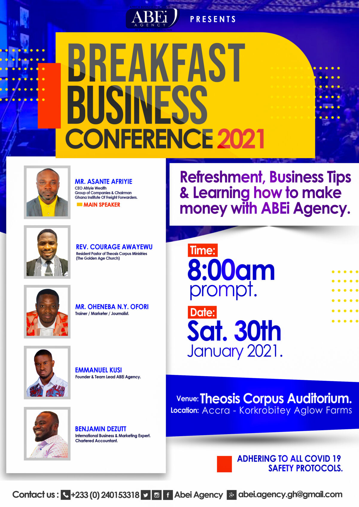 Breakfast Business Conference